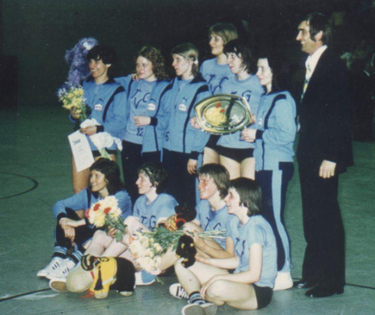 1974 Damen Basketball