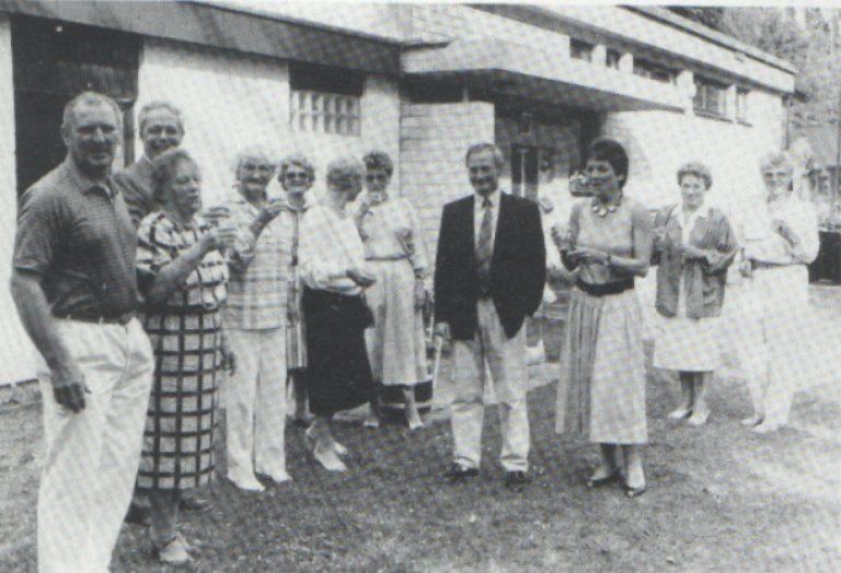 Tennishausumbau 1985